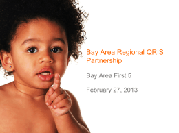 First 5 Fresno County - Bay Area Early Childhood Funders