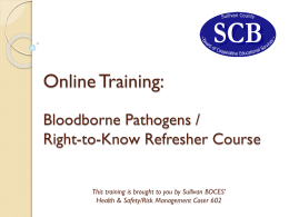 Online Training - Sullivan County BOCES