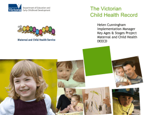 Child Health Record
