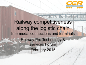 Intermodal Transportation and Terminal Operations