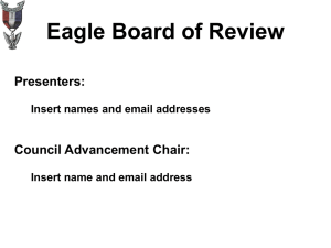 Prepare for the Eagle Board