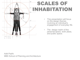 Padhi Lecture Scales Of Inhabitation