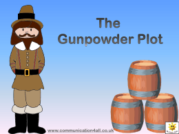 The Gunpowder Plot - Communication4All