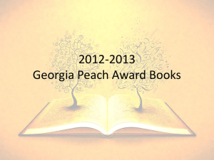 to View this year`s nominees for the Georgia Teen Peach Award
