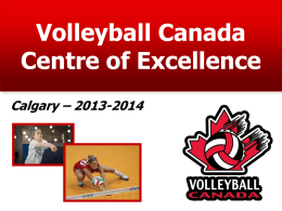 2013-2014 Calgary VCCE Tryouts