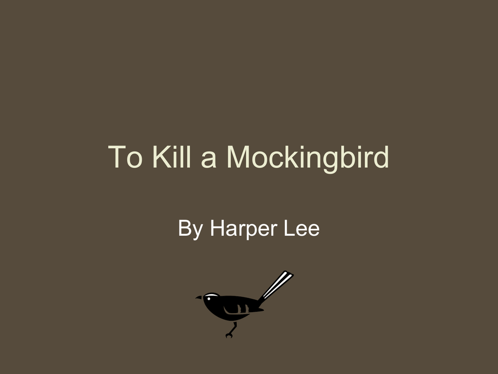 To kill a mockingbird background information biocorpaavc Choice Image