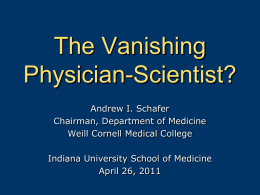see slides from dr. schafer`s presentation