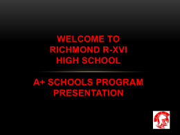 A+ PowerPoint - Richmond R