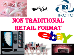 Non traditional Retail format PPT 5