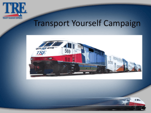 Transport Yourself Campaign