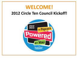 NEW - Circle Ten Council