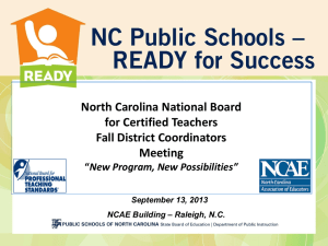 ppt, 5.7mb - Public Schools of North Carolina