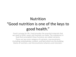Food-and-Nutrition