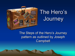 The Hero`s Journey - Binders Full of Evidence 13-14