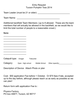 2014 Registration Form