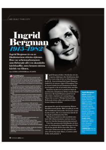 We Built This City: Ingrid Bergman