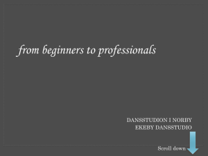 from beginners to professionals