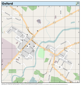 Oxford - MapOSMatic