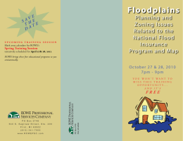 Floodplains