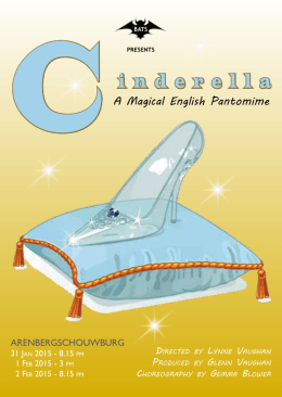 Cinderella - BATS vzw - English Speaking Theatre in Antwerp