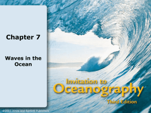 Chapter 7 Waves in the Ocean