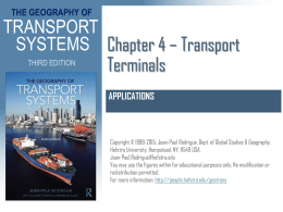 Chapter 4 - Transport Terminals