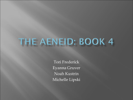 The Aeneid Book 4