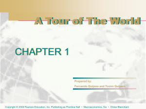 Chapter 1: A Tour of the World