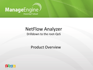 NetFlow Analyzer Drilldown to the root-QoS
