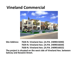 vineland project