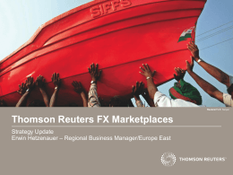 Thomson Reuters FX Marketplaces