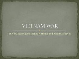 VIETNAM WAR[1] - 20thCenturyConflicts