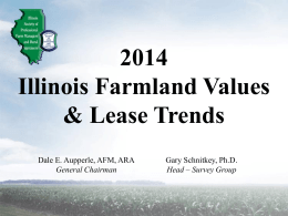 2014 Illinois Farmland Values & Lease Trends