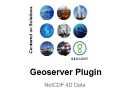 Open Source 4D Data Plugin for Geoserver - Mil-OSS