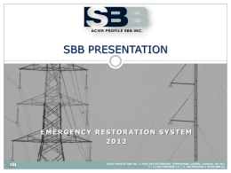 SBB Technical Presentation - ust
