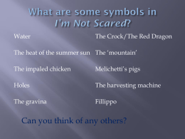 I`m Not Scared symbols prompter