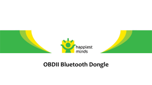 OBDII BT Dongle - ARM Connected Community