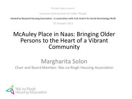 Nás na Ríogh Housing Association