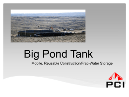 Big Pond Tanks - hrb hanseatic solutions