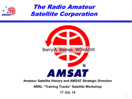 2008 AMSAT Annual Meeting