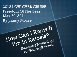 LC Cruise-Ketone Testing Technology - Low