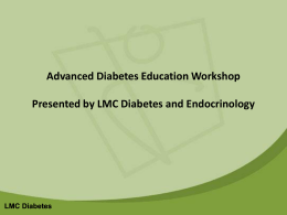 PPT - Diabetes Source