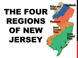 New Jersey*s Natural Region