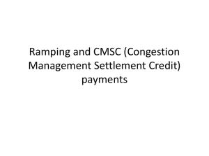CMSC for RAMPING
