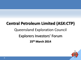 view here - Queensland Exploration Council