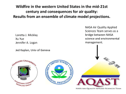 PPT - Atmospheric Chemistry Modeling Group