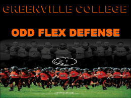 WHY ODD FLEX - Glazier Clinics