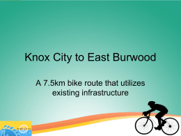 Knox City to East Burwood