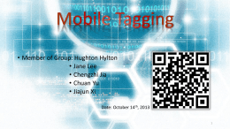 Mobile Tagging click here