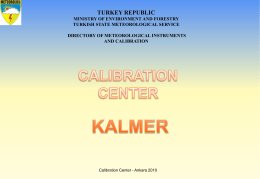 Calibration Center